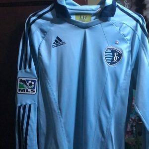 Sporting Kc long sleeve soccer jersey